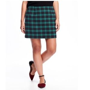 NWT Old Navy Plaid Skirt